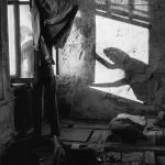 Хипповский сквот в Булгаковском доме, Москва, 1986 год. Hippie squat in the Bulgakov house. Moscow, 1986.